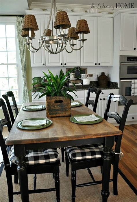 Farmhouse Kitchen Furniture Best 25 Farmhouse Kitchen Tables Ideas On Pinterest Diy Within Farmhouse Kitchen Table