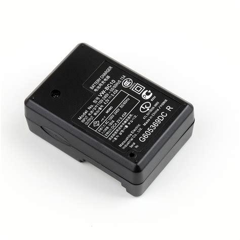 Terlaris Charger Panasonic Vw Bc10 vw bc10 travel battery charger cable for panasonic hc v10 v100 110 210 500 510 ebay