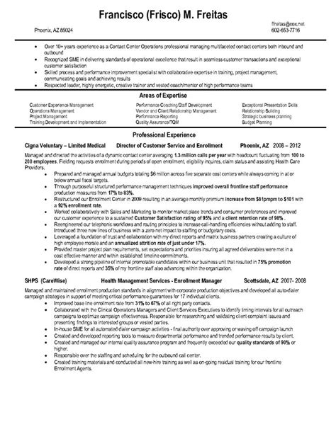 Insurance Resume Sle by Claims Representative Resume Sales Representative