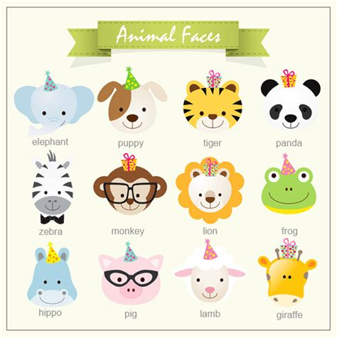 baby jungle animals hang tags 30 pcs