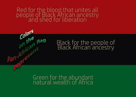 american color meanings black green flag of black liberation history and