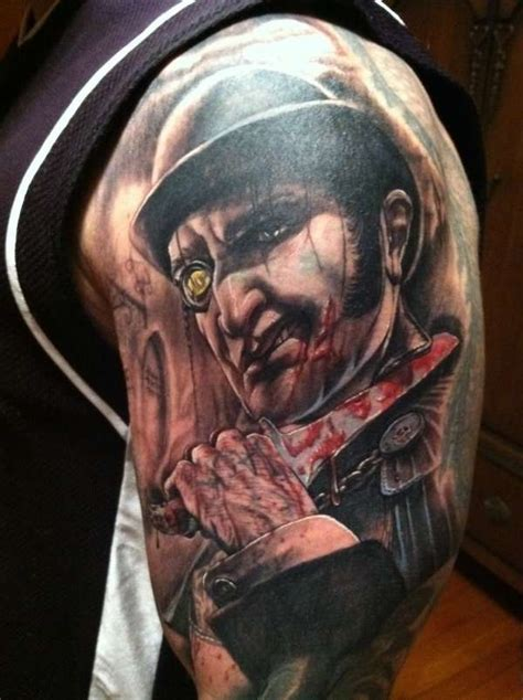 jack the ripper tattoo the ripper by stefano alcantara