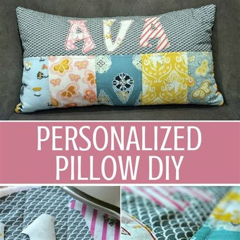 Diy Pillow Patterns by Personalized Pillows Diy Quarters Personalized