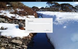 Computer Desktop Lock Screen Change Desktop Login And Lock Screen Wallpapers In Gnome