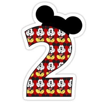 happy birthday mickey mouse design second birthday mickey mouse birthday party pinterest