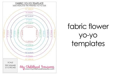 fabric templates how to make fabric yo yos diy fabric flowers free