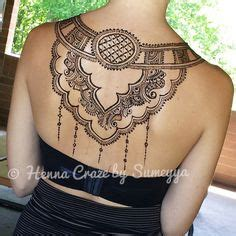 tattoo back necklace beautiful necklace design henna art pinterest