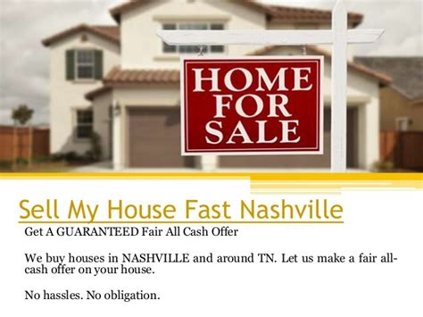 sell my house fast nashville
