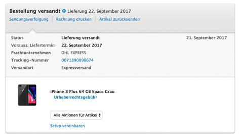 wann kommt dhl express iphone 8 252 ber prag apple stellt versandbenachrichtigungen