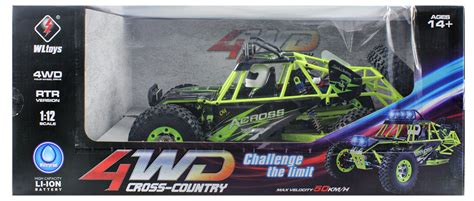 Rc Wl Toys 12428 Kodok wltoys no 12428 1 12 scale 2 4ghz 4wd road vehicle