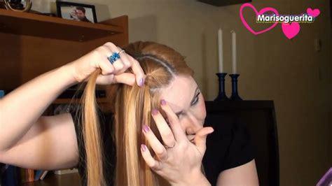como hacer una trenza francesa youtube como hacer una trenza francesa peinado moderno youtube