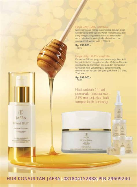 Jafra Royal Jelly Lift Concentrate 1 Vial 7 Ml jafra katalog