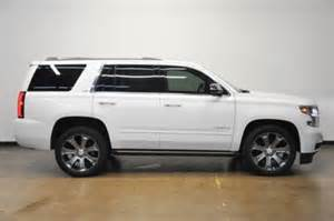 2015 chevrolet tahoe ltz 4x4 white for sale used cars