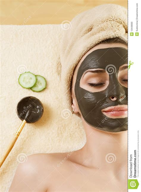 Viodi Beauti Mask Acne 30gr mud mask on the spa stock photo image of dirt