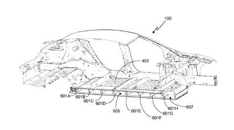 Tesla Battery Pack Size Image Tesla Model S Battery Pack From U S Patent