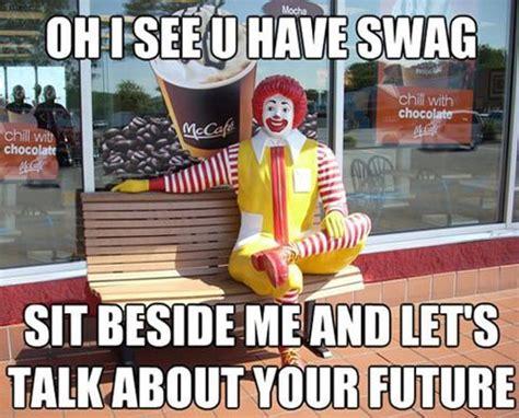 Funny Ronald Mcdonald Memes - quotes funny mcdonalds quotesgram
