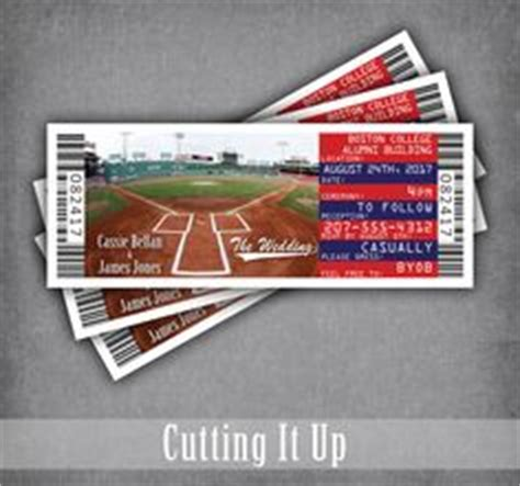 chicago cubs wedding invitations baseball wedding invitation baseball invitation