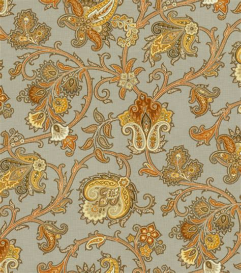 home decor print fabric waverly tennyson topaz jo