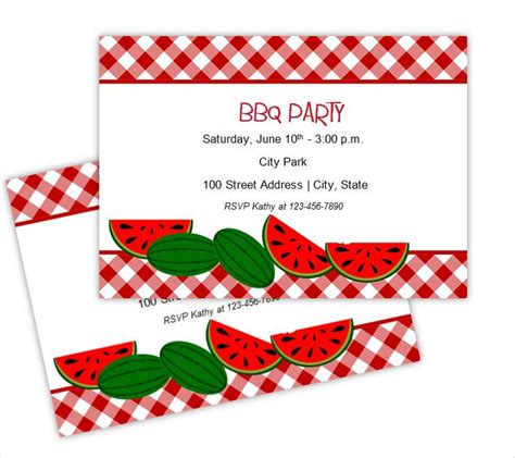 picnic invitation card template free bbq invitation template diabetesmang info