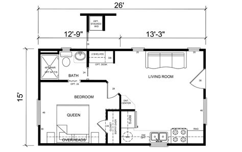 Floor Plans For Small Homes by Tiny House Floor Plans House Plans 80089