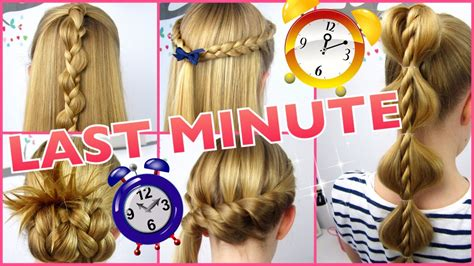 Coole Frisuren by 5 X 3 Minuten Frisuren Last Minute Coole Frisuren Auf