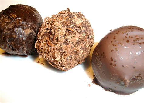 Handmade Chocolate Truffles - chocolate truffles foods