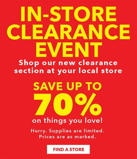 clearance section jo ann fabric and craft store have you shopped the new