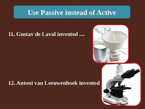When Was Lava L Invented use passive instead of active 1 roger bacon