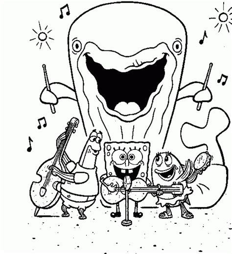 coloring pages free printable spongebob free printable all spongebob squarepants character get