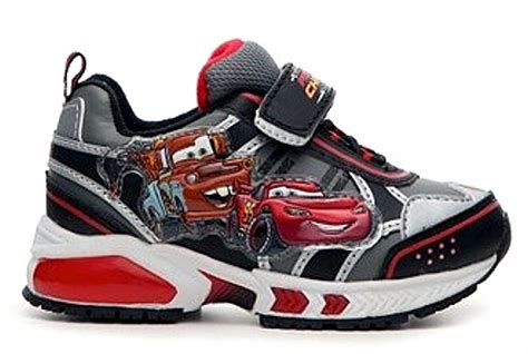 cars sneakers light up disney d fit cars 2 light up sneakers kid s black