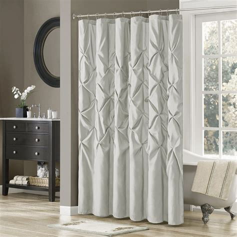 valance shower curtain double swag fabric shower curtain set curtain