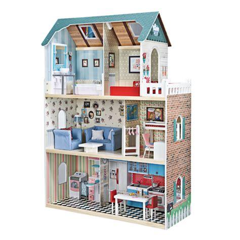 imaginarium doll house wooden doll house amanda family maison