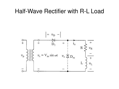 freewheeling diode half wave rectifier freewheeling diode rl load 28 images freewheeling diode explanation 28 images ppt diodes