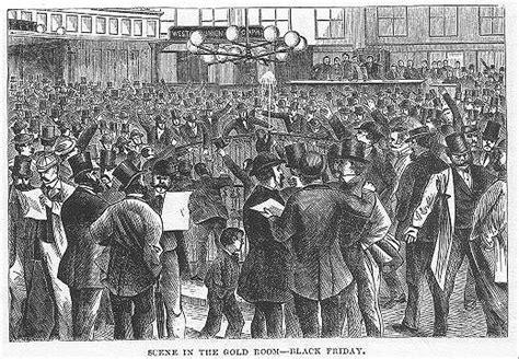black friday september 24 1869 us grant warrior the first black friday crossing wall street