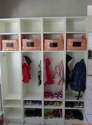 mudroom lockers ikea medio armario and pensamientos on pinterest