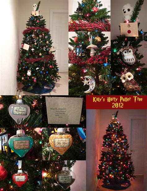 harry potter christmas decorating ideas my ballin harry potter tree by grumbles87 on deviantart