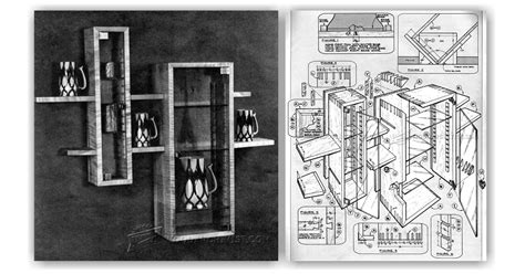 Wall Hung Display Cabinets Plans ? WoodArchivist