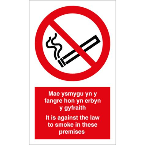 no smoking signs wales signs for safety no smoking law wales