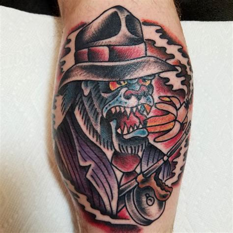 kadillac tattoo gangster gorilla by hatchett done kadillac