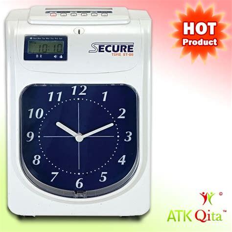 Sale Secure St 86 Mesin Absensi Absen Kartu Check Lock mesin absensi kartu time recorder secure st 86