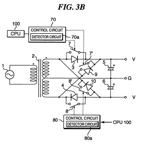 capacitor negative and positive patent us7209374 capacitor input positive and negative power supply circuit patents