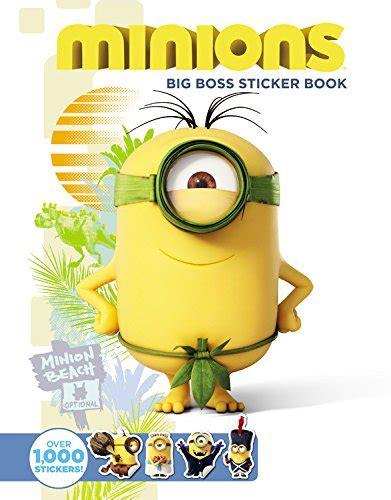 Minions Reusable Sticker Book minions big sticker book association for contextual behavioral science