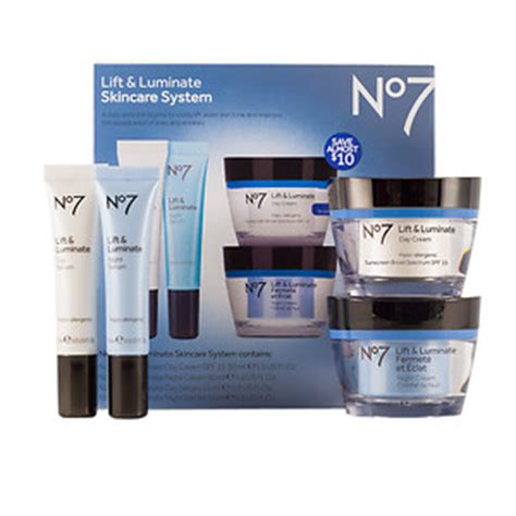 boots no7 lift luminate skincare system drugstore