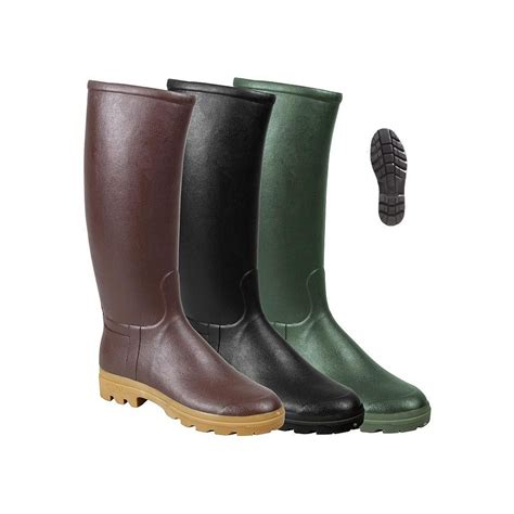 st hubert leather lined wellington boots st hubert