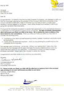 Scholarship Letter To Recipient Conway Beth Elton Scholarship Ziebell S Professional Portfolio