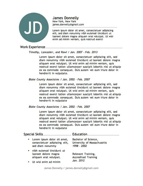 awesome free resume templates 20 awesome designer resume templates for free