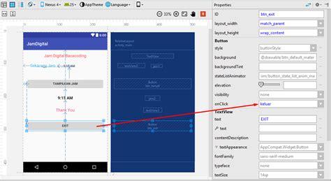 cara membuat jam digital dengan php cara membuat jam digital keren di android studio baca coding
