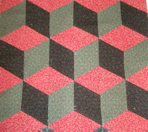 Blocks Pattern Quilting by 3 D Quilt Blocks Quilting Optical Illusions