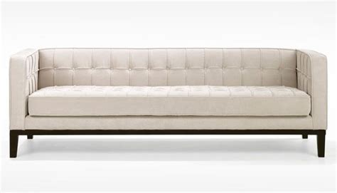 contemporary tufted sofa roxbury chenille tufted sofa contemporary sofas by