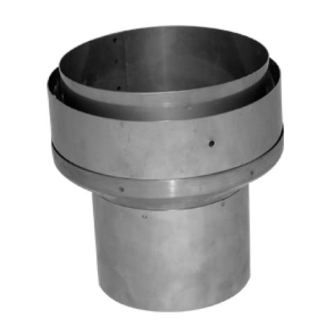 Chimney Liner Stove Adapter - 4 quot to 5 quot adapter flue to liner
